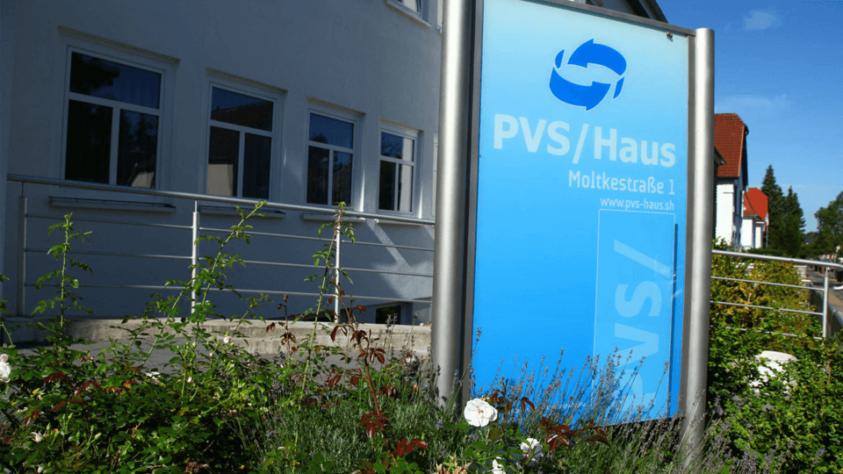 PVS SH Haupteingang